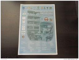 POSTER PLAKAT ORIGINALE GIRO SICILIA TARGA FLORIO 50X70 FLORIOPOLI - Manifesti