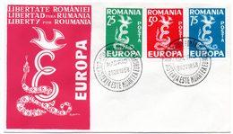 Europa. Pli Libertate României. Liberty For Roumania. Cachet à Date Madrid 8 Nov. 1958 - Europese Instellingen