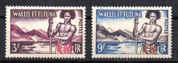 Sellos Sueltos  Nº 157/8   Wallis Et Futuna - Wallis Y Futuna