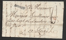 Sans Date - LAC - ANTIBES 19mm X 3mm (Provence) . TB - 1701-1800: Précurseurs XVIII