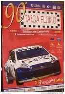MANIFESTO ORIGINALE 70x100 TARGA FLORIO CENTENARIO Fiat Abarth - Manifesti