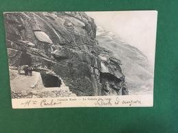 Cartolina Ceresole Reale - La Galleria - 1905 - Unclassified