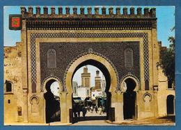 FES FEZ PORTE DE BOUJELOUD 1979 - Fez