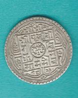Nepal - Prithvi - 1 Mohar - SE1824 (1902) - KM651.1 (smooth Edge) - Népal
