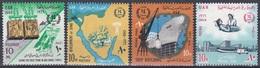 Ägypten Egypt 1966 Geschichte History Revolution Tempel Abu Simbel Sinai Schiffe Ships Gesundheit Health, Mi. 829-2 ** - Ungebraucht
