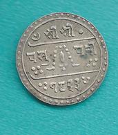 Nepal - Prithvi - ½ Mohar - VS1833 (1911) - KM649 - Népal