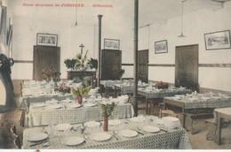 Jodoigne  , Ecole Moyenne ; Le Réfectoire ; Colorisée - Geldenaken