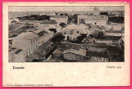 Loanda - Cidade Alta - Edit. OSORIO DELGADO & BANDEIRA - Angola