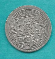 Nepal - Tribhuvana - 2 Mohurs - VS1972 (1915) - KM695 - Népal
