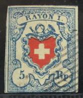 Suiza 20 O - 1843-1852 Timbres Cantonaux Et  Fédéraux