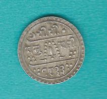 Nepal - Tribhuvana - ¼ Mohur - VS1833 (1911) - KM644 - Népal