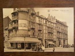 Oude Postkaart  LA  PANNE - De Panne
