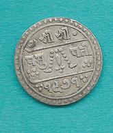 Nepal - Tribhuvana - ½ Mohur - VS1968 (1911) - KM681 - Queen Lakshmi Regency - Népal