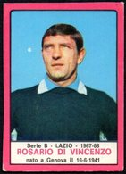 FOOTBALL - PANINI - CALCIATORI 1967-1968 - LAZIO - ROSARIO DI VINCENZO - STICKER - Calcio