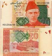 PAKISTAN       20 Rupees        P-55i        2015        UNC  [sign. Ashraf M. Wathra] - Pakistan