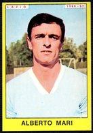 FOOTBALL - PANINI - CALCIATORI 1966-1967 - LAZIO - ALBERTO MARI - STICKER - Soccer