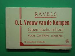 Ravels LOT 32 Kaarten O.L. Vrouw Van De Kempen. Boekje Leporello - Ravels
