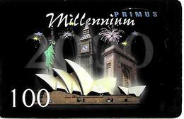 CARTE+-PREPAYEE--MILLENNIUM-PRIMUS-100-2000-TBE- - France