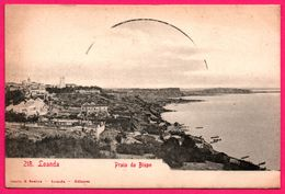 Loanda - Praia Do Bispo - Plage - Bateau - Edit. OSORIO & SEABRA - Angola