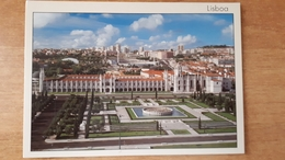 Lisbona Lisboa Restelo Belenenses Stadium Cartolina Stadio Postcard Stadion AK Carte Postale Stade Estadio - Calcio