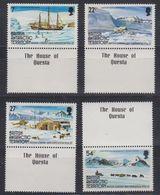 """British Antarctic Territory 1985 British Grahamland Expedition 4v """"House Of Questa"""" In Margin  ** Mnh (41657) - Brits Antarctisch Territorium  (BAT)"""