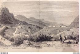 1863 VALLÉE DES DAPPES FORT DES ROUSSES HAMEAU DE LA CRESSONNIÈRE - RÉGATES PARISIENNES - GUERRE D'AMÉRIQUE FORT SUMTER - Livres, BD, Revues