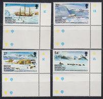 British Antarctic Territory 1985 British Grahamland Expedition 4v (corners) ** Mnh (41657A) - Ongebruikt