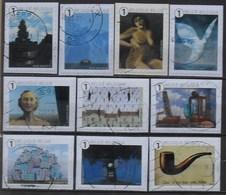 België 2014 René Magritte - Used Stamps