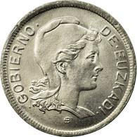 Monnaie, SPAIN CIVIL WAR, EUZKADI, 2 Pesetas, 1937, Bruxelles, SPL, Nickel, KM:2 - Zone Nationaliste