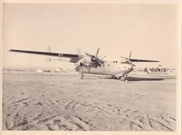 PHOTO 24,2 X 18 Cm DJIBOUTI En 1954/1956 - AVION De Transport NORD 2501 (NORATLAS) @ FRANCE MILITAIRE AVIATION - Aviation