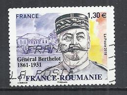 FRANCE 2018 - GENERAL BERTHELOT - OBLITERE USED GESTEMPELT USADO - Used Stamps