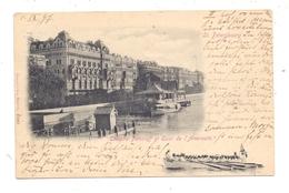 RU 190000 SANKT PETERSBURG, Theater Paniaeff, Seekadetten, 1897 Nach Wittlich Befördert - Russland
