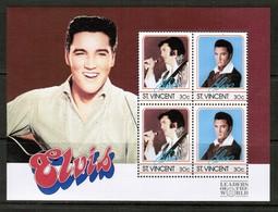ST.VINCENT  Scott # 878-81** VF MINT NH SOUVENIR SHEETS  LG-987 - St.Vincent (1979-...)