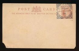 GREAT BRITAIN   HALF PENNY 1898 - 2 SCANS - 1840-1901 (Victoria)