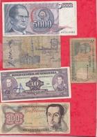 Pays Du Monde 50 Billets état Et Usagés Lot N °1 (PRIX DE DEPART MINUS) - Coins & Banknotes