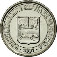 Monnaie, Venezuela, 10 Centimos, 2007, Maracay, SPL, Nickel Plated Steel, KM:89 - Venezuela