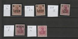 Deutsches Reich MNr. Lot Aus MNr. 154 - 197  Postfrische **/MNH , Geprüfte Werte - Neufs