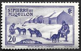 ST PIERRE ET MIQUELON  1938 -  YT  173    Neuf Sans Gomme - Gebraucht