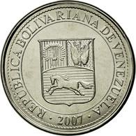 Monnaie, Venezuela, 50 Centimos, 2007, Maracay, SPL, Nickel Plated Steel, KM:92 - Venezuela