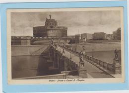 ROMA  -  PONTE  E  CASTEL  S.  ANGELO  -  1934  - - Ponts