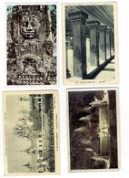 Lot 4 Cpa - PARIS 1931 EXPOSITION - Indochine Pavillon CAMBODGE - Temple Angkor Vat - PALAIS BAYON - Cambodia