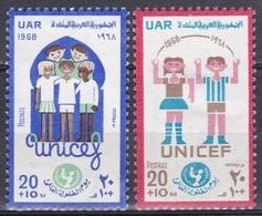 Ägypten Egypt 1968 Organisationen UNO ONU UNIFEC Kinderhilfswerk Kinder Children Familie Family, Mi. 900-1 ** - Ungebraucht