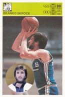 BRANKO SKROCE CARD-SVIJET SPORTA (B210) - Basketball