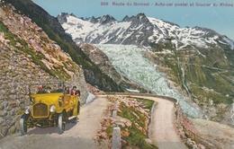 Route De Grimsel - Auto-car Postal Et Glacier Du Rhône - Switzerland