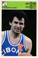 KRESIMIR COSIC CARD-SVIJET SPORTA (B223) - Basket-ball