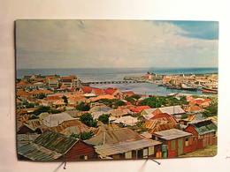 Nederlandse Antillen - Curacao - Panorama And Queen Emma Pontoon Bridge - Curaçao