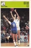 BASKETBALL EURO 80' CARD-SVIJET SPORTA (B226) - Basket-ball