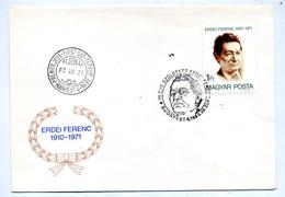 Lettre Fdc 1980 Ferenc - FDC