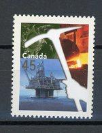 CANADA - INDUSTRIES - N° Yvert  ? ** - 1952-.... Règne D'Elizabeth II