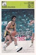 DAMIR SOLMAN CARD-SVIJET SPORTA (B227) - Basket-ball